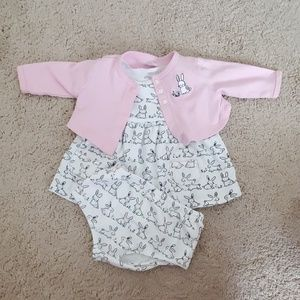 Bunny dress set
